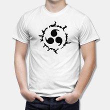 Тениска Наруто - Cursed Seal of Heaven на Uchiha Sasuke