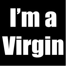"""Дамска тениска с надпис """"I'm a Virgin"""""""