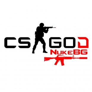Бяла тениска CSGOD - CS:GO с уникален Ник и оръжие за момиче