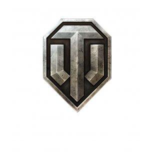 Тениска World of Tanks Бяла - с оригиналното лого на World of Tanks