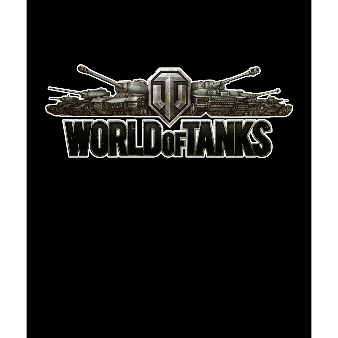89a2c88040a Тениска World of Tanks - Черна, с оригиналното лого в Тематични тениски | в  Tee