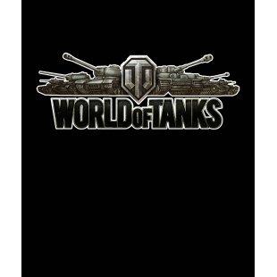 Тениска World of Tanks - Черна, с оригиналното лого