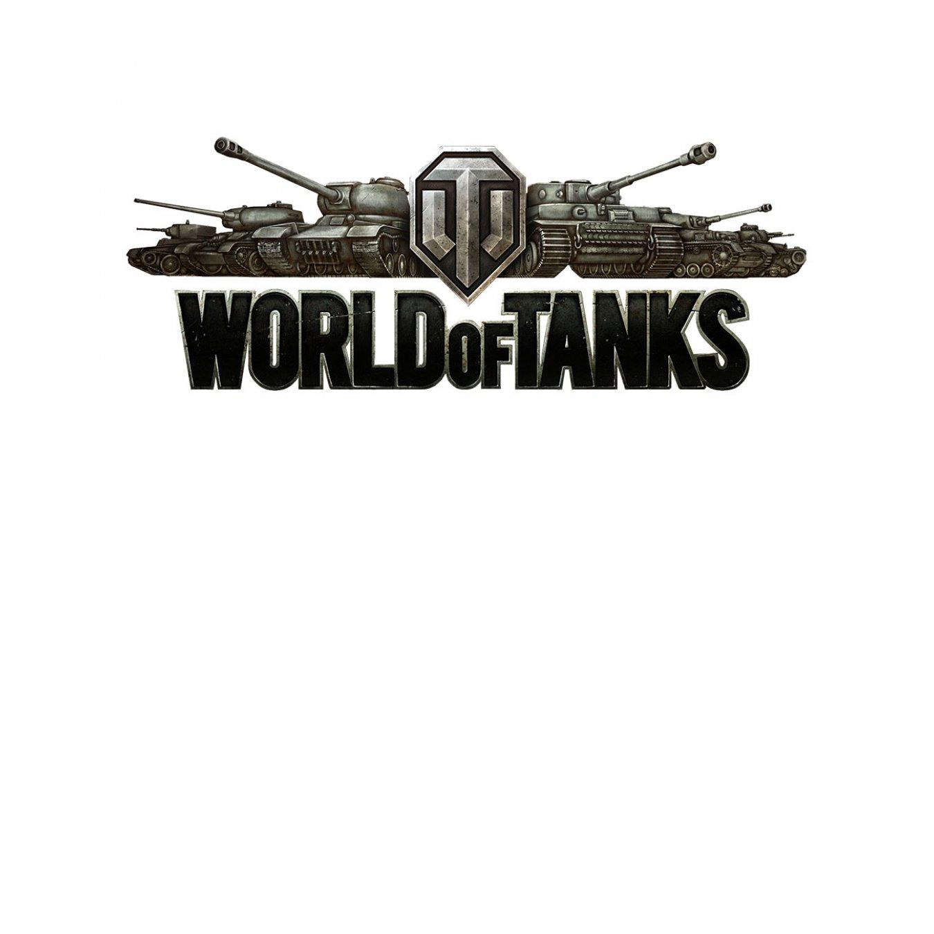 a9c986a03ff Тениска World of Tanks Бяла - с лого в Жълто и Черно TT1002 в Тематични  тениски