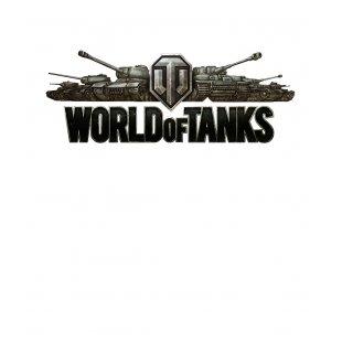 Тениска World of Tanks Бяла - с лого в Жълто и Черно  TT1002
