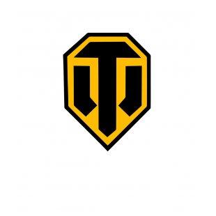 7d709f65646 Тениска World of Tanks Бяла - с лого в Жълто и Черно TT1002 | Tee.bg