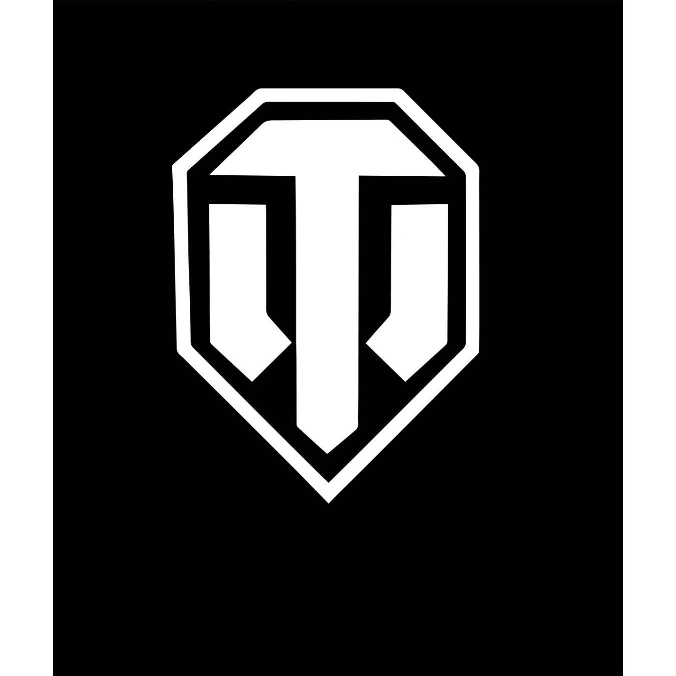 934b5ded376 Тениска World of Tanks ЧЕРНА - с логото в БЯЛО в Тематични тениски   в Tee