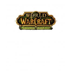 Тениска WOW - World of WarCraft Бяла - с лого на Burning Crusade