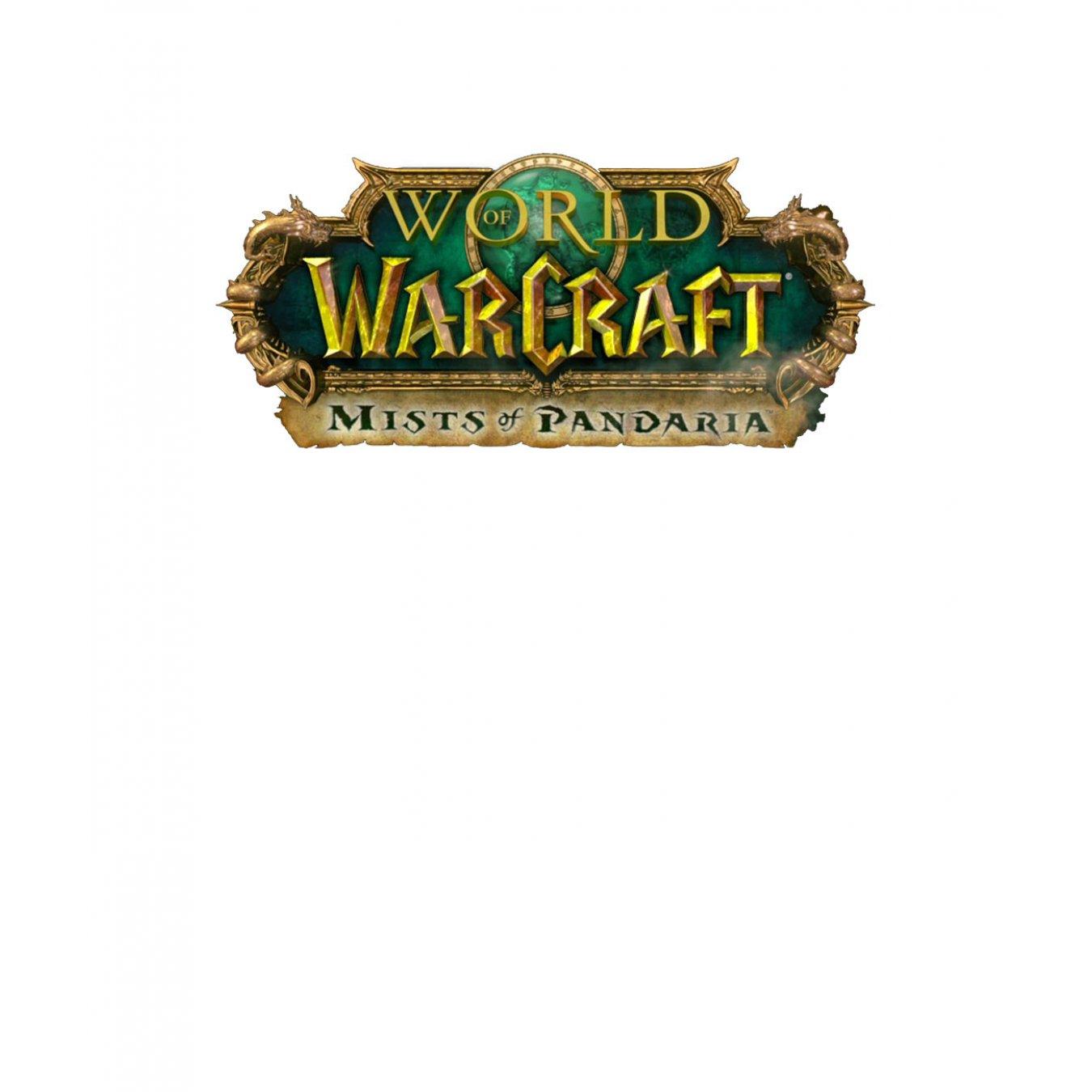 fb617d93b8c Тениска WOW - World of WarCraft Бяла - с оригиналното лого на Mists of  Pandaria в