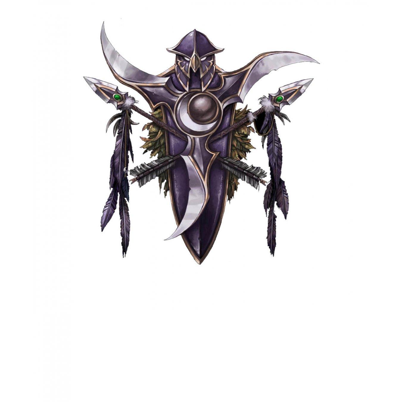 8303f7d4270 Тениска WOW - World of WarCraft Бяла - с оригиналното лого на Нощните Елфи  в Тематични