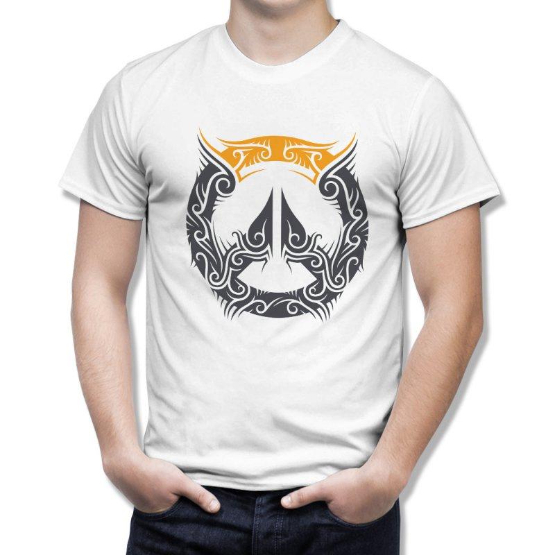 Тениска OverWatch с оригиналното лого в трибал в Мъжки тениски | в Tee.bg