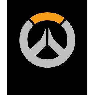 Тениска OverWatch с оригиналното лого кръг черна