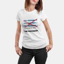 Тениска за Дизайнери I'm a designer