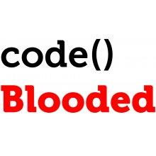 Тениска за програмисти CODE BLOODED