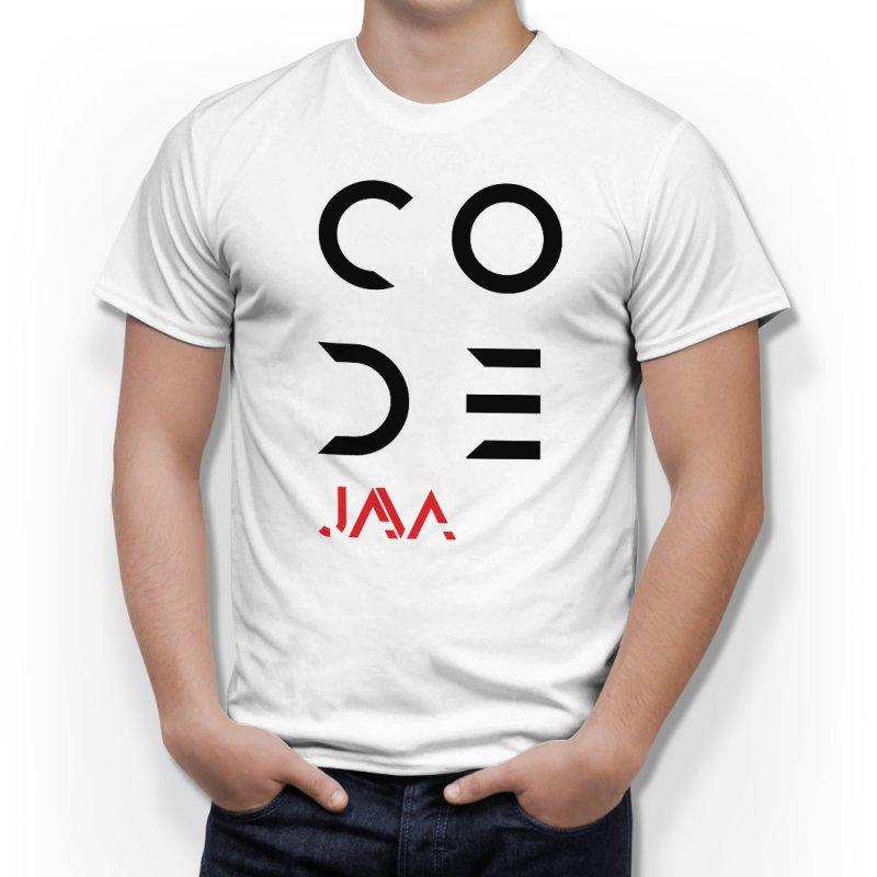 Тениска за програмисти с надпис CODE - Java в Мъжки тениски | в Tee.bg