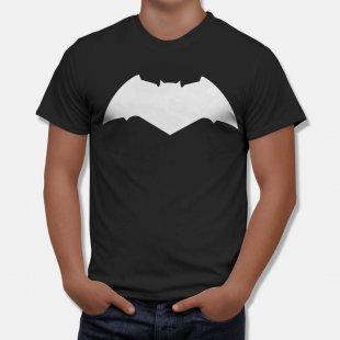 Тениска Батман - с модерното лого от филма Изчистена