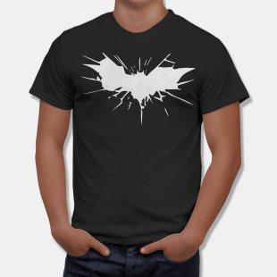 Тениска Батман със Сплаш на емблемата на Батман